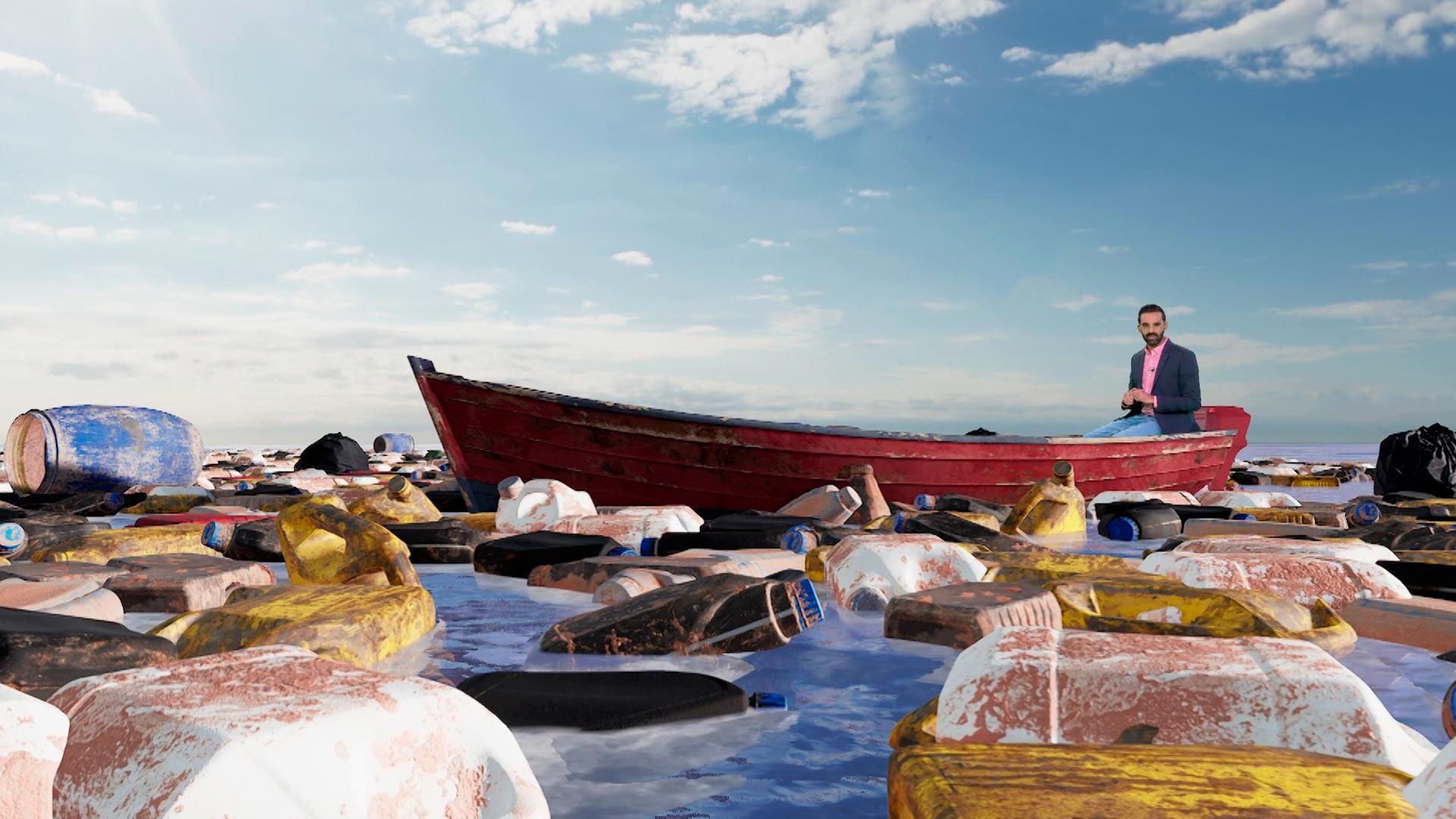 """Campaña de concienciación contra el """"mar de plástico"""""""